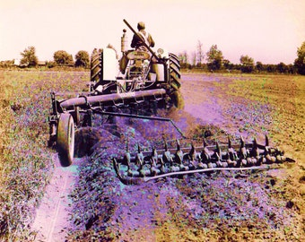 Tractor Series Number 2,  Photographers of Michigan, PoE team