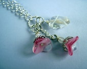 Pink Flowers Jubilee Necklace