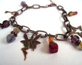 Fairy Garden Charm Bracelet