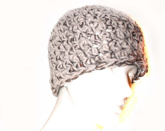 SALE-Brown and Tan Tones  Beanie Hat