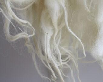 SCOTTISH BLACKFACE fleece, UNWASHED,100 g