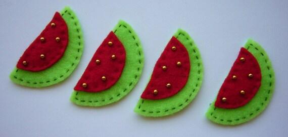 Felt Watermelon Slices
