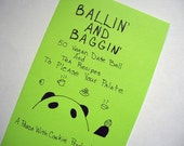 Clearance Sale Ballin' and Baggin' 50 Vegan Date Ball and Tea Recipes Zine
