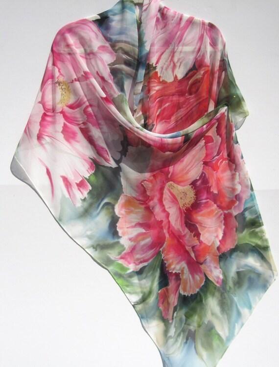 PEONY Silk Wrap