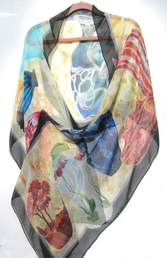 ART GLASS II Silk Wrap