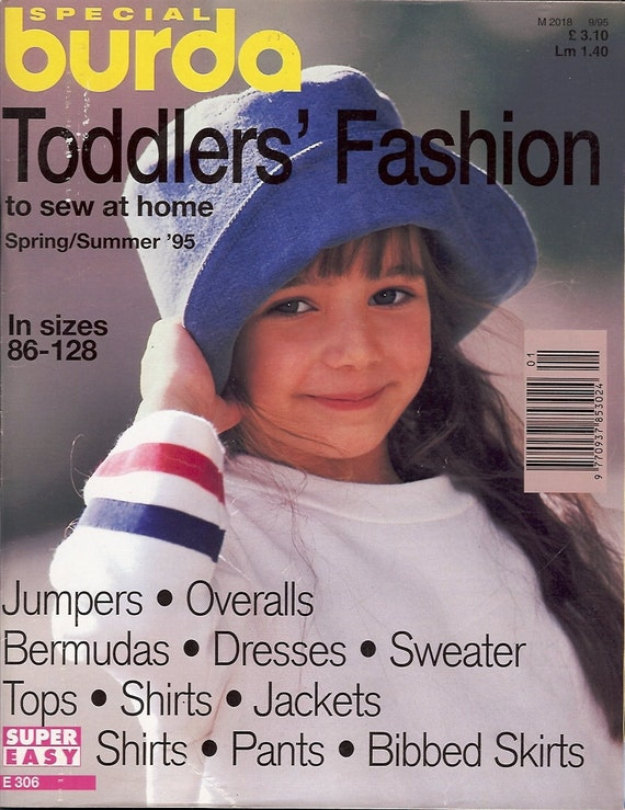 Special Burda Toddler's Fashion Magazine - Spring/Summer 1995 issue - All Patterns Included