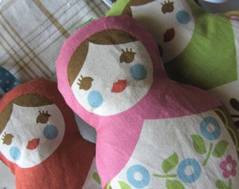 Lavender sachet Matryoshka, Russian Doll, lavender bag best French Lavender