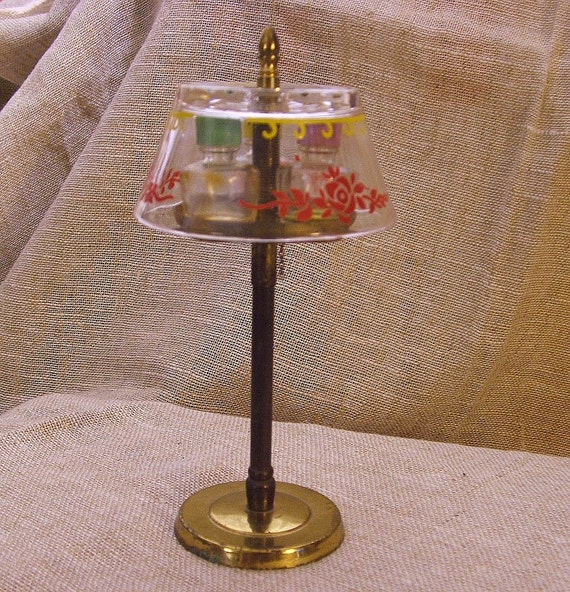Vintage Perfume Bottle Miniature Glass By Anothertimeantiques