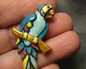 Pastel Parrot Pin