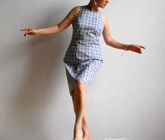 Plaid Dress-- FREE SHIPPING