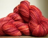 Ever Autumn - 100g 230yd Hand Dyed Wool Worsted Weight Yarn - 3 skeins available