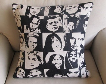 PERSONALITIES  pillow 20x20 WITH INSERT