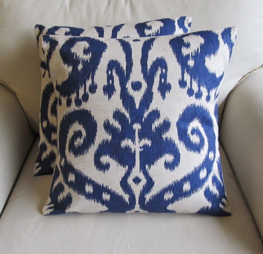 etsy ikat pillows