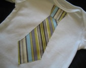 The Executive Baby- Tie applique Onesie