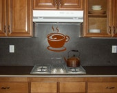 Coffee in the Morning Vinyl Wall Decal