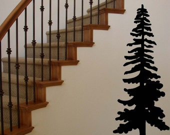Lone Pine Tree Vinyl Wall Decal