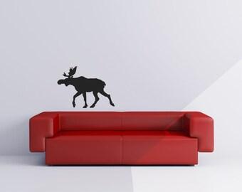 Moose Vinyl Wall Decal