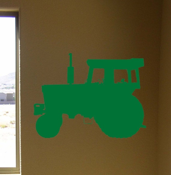 Tractor Vinyl Wall Decal