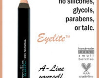 Eyelite™   Mineral Pink Highlighter / Corrector / Concealer  All Natural Safe For Waterline Organic Mineral Makeup Biodegradable packaging