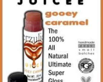 All Natural Juicee Tube Lip Glosses 4 Pack  High Shine Organic Lip Gloss Lightly Tinted
