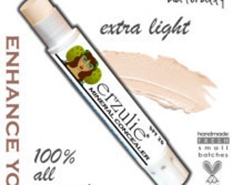 Natural Concealer in Extra Light  extra coverage concealer stick non-comedogenic non toxic cosmetics