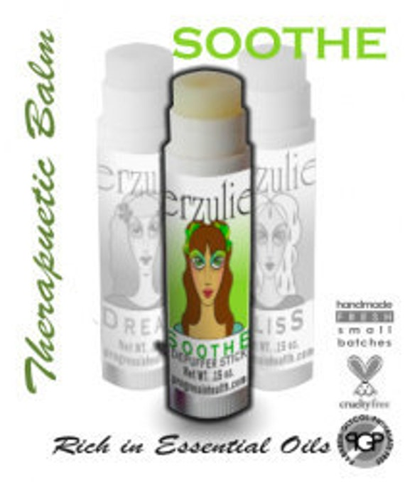All Natural Eye Depuffer  Balm SOOTHE   For Puffy Eyes and Dark Circles with argan oil  Non-comedogenic   Proven Effective