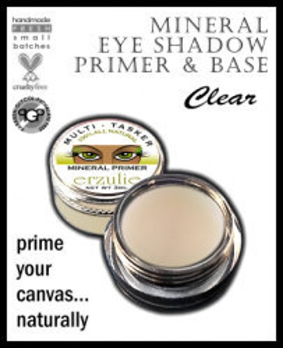 Natural Primer, Base and Medium The Multi-Tasker Turn Mineral Powders Into Eye Shadow, Eyeliner, Blush or Lipstick from powder