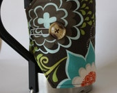 custom Bodum / french press cozy (fits 34 ounce size) - choose from over 100 fabrics - made to order - custom sizes available