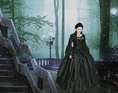 Gothic Steampunk Victorian Wedding Gown Custom