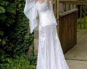 Isabella Beach or Medieval Style Backless Gown Custom
