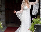 Ophelia Lace Medieval Fantasy Romantic Gown Custom