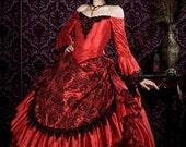 Gothic Victorian Steampunk Antoinette Fantasy Wedding or Costume Mask Hat Jewelry MEDIUM