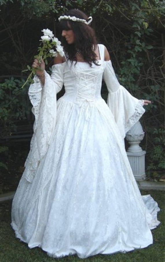 Items similar to Gwendolyn Medieval or Renaissance Wedding ...