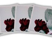 Purple Girl 1  (4pk Notecards)