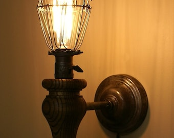 Vintage Inspired Industrial Wall Sconce