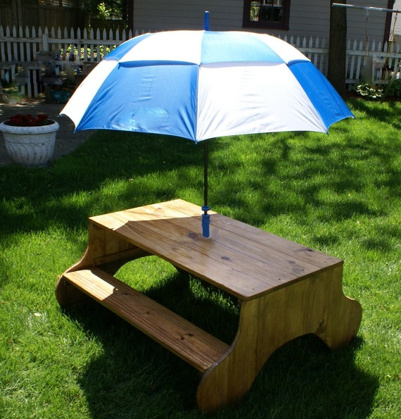 Contemporary Picnic Shelter Google Search: Items Similar To Modern Style Child Picnic Table On Etsy