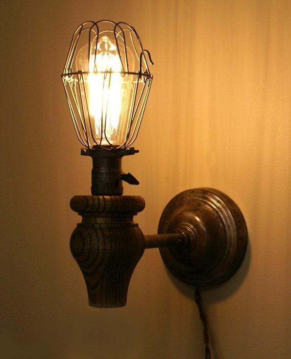 Wall Sconces Etsy : Vintage Inspired Industrial Wall Sconces reserved for Akiko