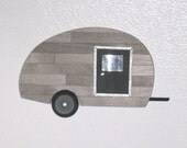 Refrigerator Magnet - Little Old Trailer with a Black Door