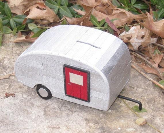 Trailer Bank - Little Old Silver Trailer Bank (no. S7R)