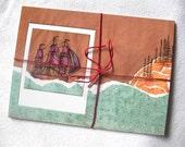 Book of Ships postcards -set