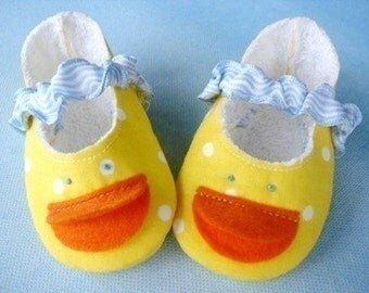 SALE - PDF ePATTERN - Duck Shoes, Plain Shoes and Duck Doll