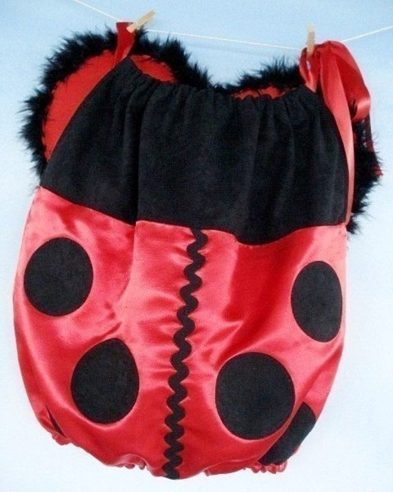 Halloween Costume Sewing Pattern - Simple Ladybug and Bumble Bee - 6 months to 4 years - PDF e-Pattern
