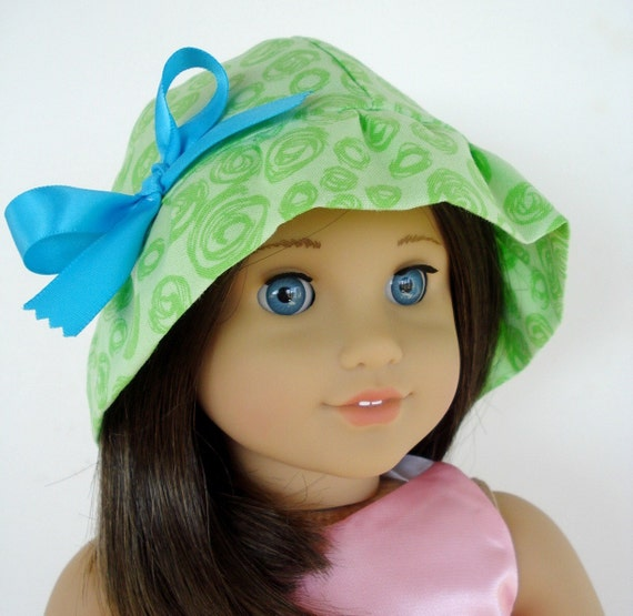 Sewing Pattern for American Girl Doll - 18 inch Doll Hats - 7 Styles - PDF e-Pattern