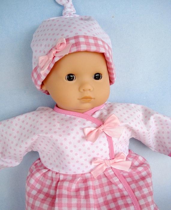 Baby Doll Clothing Sewing Pattern Wrap Dress Shirt Pants