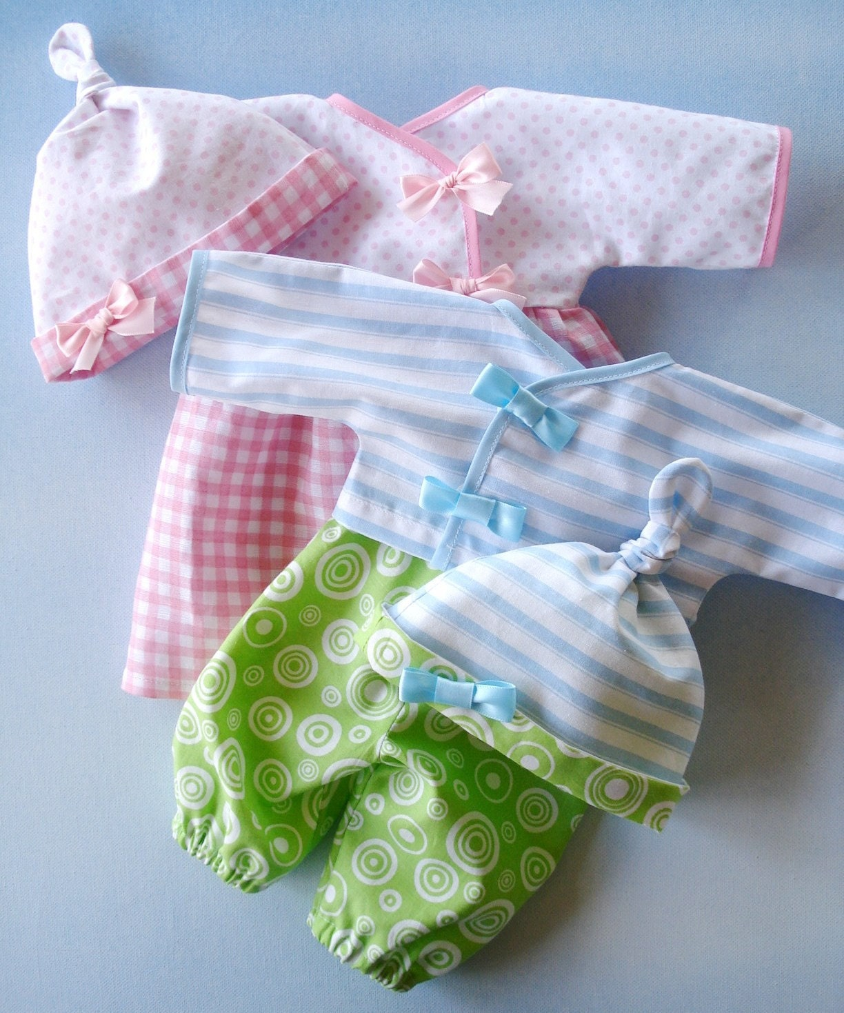 SALE PDF e Pattern Baby Doll Wrap Dress Shirt Pants and