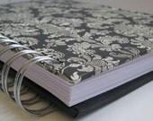 Address Phone Book/ Unique Address Book/ Address Book With Tabs/ Address Book/ Email Address Book/ Replacement Labels/ Contacts/Black Damask