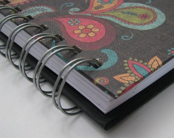 Password Book/ Password Log/ Password Organizer/ Password Keeper/ Password Journal/ Internet Password/ Password Notebook/ Paisley Turquoise