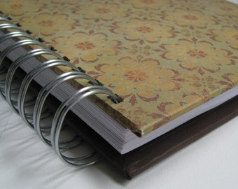 Devotional Journal/ Daily Devotion/ Bible Notebook/ Bible Verse Journal/ Prayer Journal/ Bible Memory/ Morning Devotions/Yellow Brown Floral