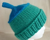 Snork Hand Knit Wool Mohair Winter Hat by ColAreto