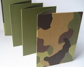 Brag Book for Wallet Size Photos. Fits in pocket or purse. MILITARY CAMO